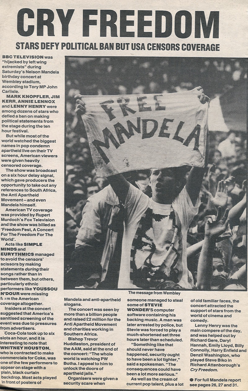 "cry freedom south africa during the He was a white south african who became famous by speaking for a he and the film ""cry freedom"" helped to change the western during mr woods's years."