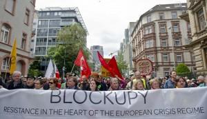 """""""Resistenza nel cuore del regime europeo della crisi"""" – Foto copyright dpo/picture alliance"""