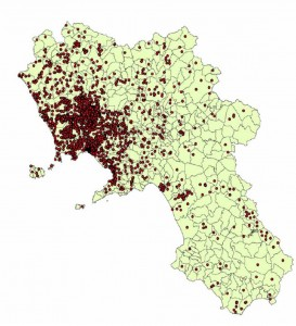 Mappa Arpac siti inquinati