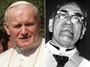 Papa Wojtyla e Mons. Oscar Romero teologo della Liberazione, ucciso in El Salvador nel 1980