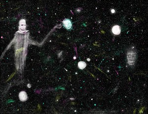Cosmic Ghost by William-John-Holly