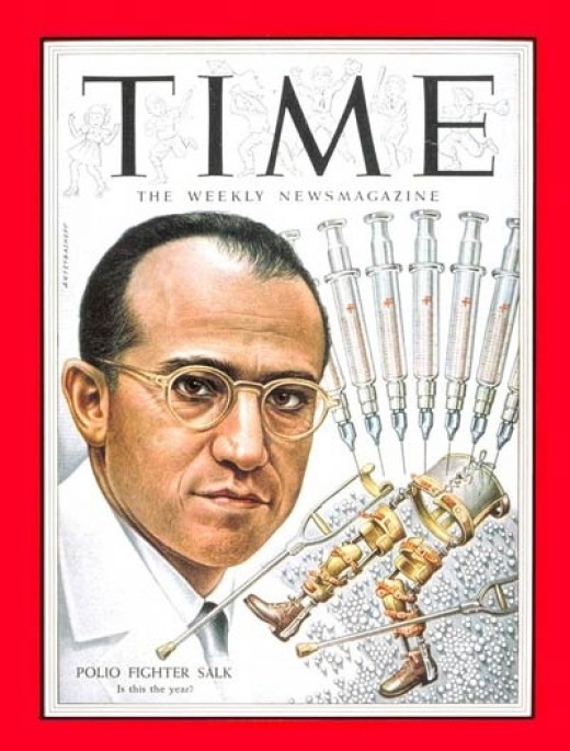 Dr. Jonas Edward Salk (New York, 28 ottobre 1914 – La Jolla, 23 giugno 1995)